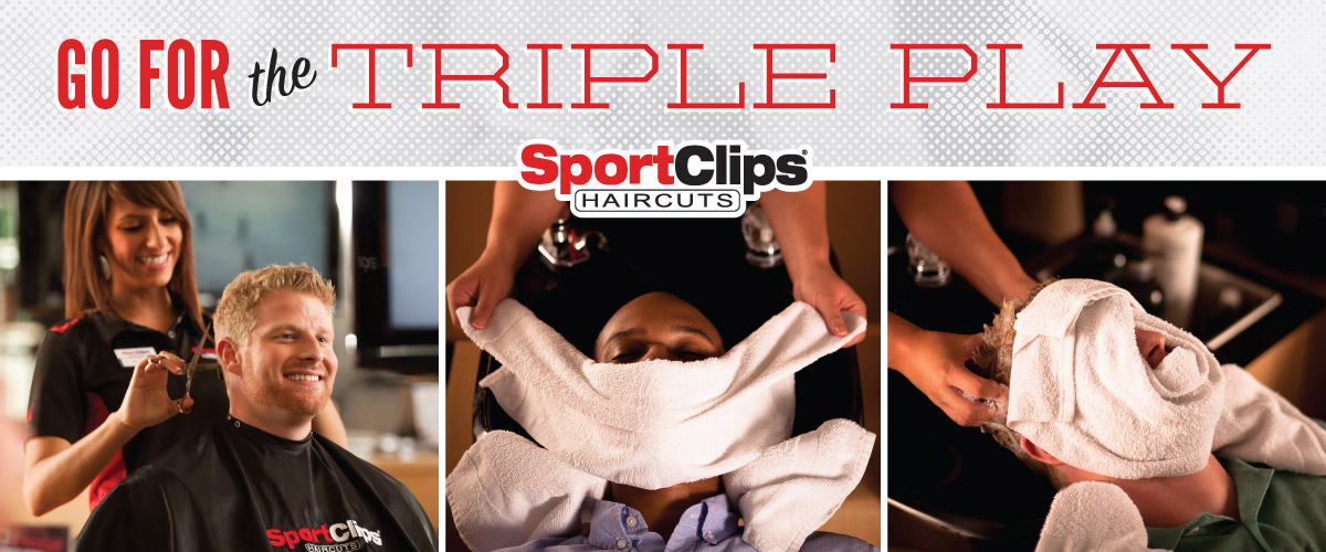 The Sport Clips Haircuts of Aurora Triple Play